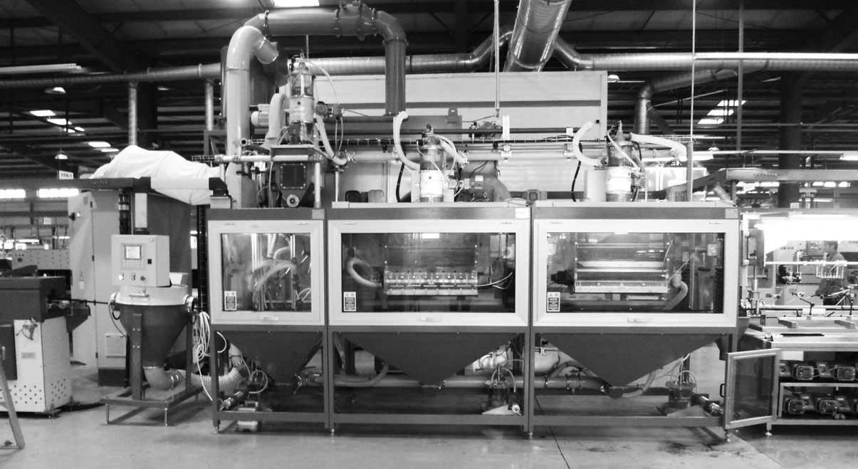 AIGLE: flocking, coating and laminating equipment