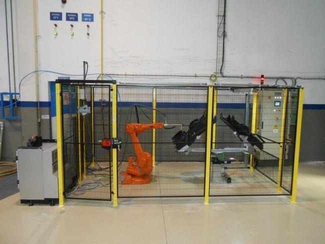 Cabina di Fiammatura Automatica – mod. CF/R