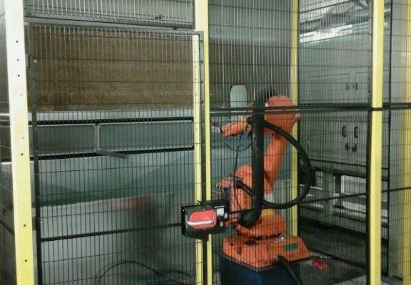 Automatic Glue Spraying Cabinet – mod. CV/R