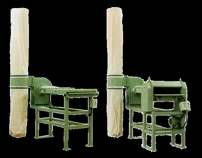 Cleaners for Panels/Sheets/Pre-cut Garments – mod. PFA-PFS-PM