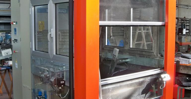 Cabina di Floccaggio Automatica per Oggetti 3D – mod. CA-ESP