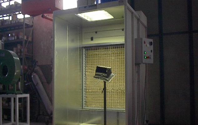 Cabina Spruzzatura Adesivo – mod. CV
