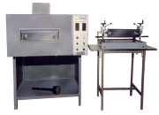Laboratory Oven & Direct Coating Head – mod. JP