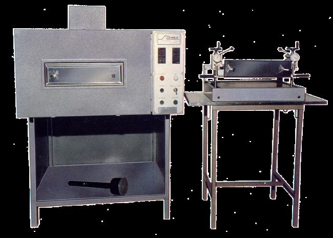Laboratory Oven & Direct Coating Head – mod. JP