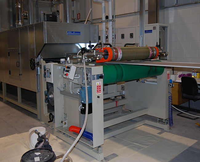 Rotary Screen Coater – mod. BS1/T