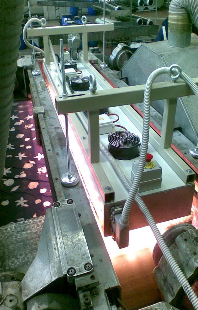 Infrared Pre-Drying Oven – mod. FIR/S